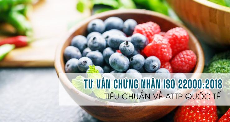 ISO-Dịch vụ tư vấn chứng nhận tiêu chuẩn An toàn thực phẩm ISO 22000:2018